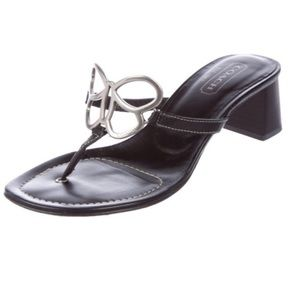 Coach Amara Leather Sandals